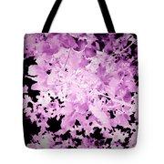 Utlraviolet Leaves Tote Bag