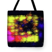 Uncaged And Unafraid - Breaking The Gridlock Of Hate Number 3 Tote Bag