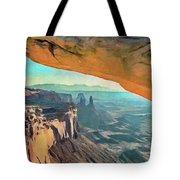 Under The Arch Tote Bag by Jeffrey Kolker