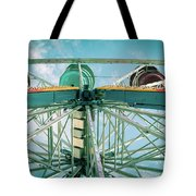 Under The Ferris Wheel Tote Bag