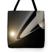 Under The Rings Of Saturn Tote Bag