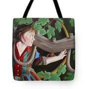 Unequally Yoked Tote Bag