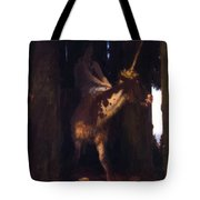 Unicorn 1885 Tote Bag