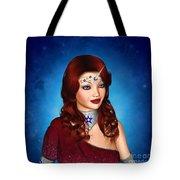 Unicorn Princess Adoria Tote Bag