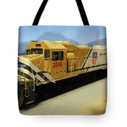 Union Pacific 2014 At Work Tote Bag