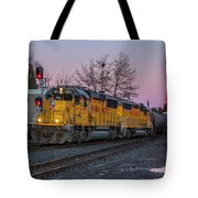 Union Pacific Highball Freight Tote Bag by Matthew Irvin