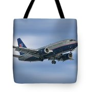 United Airlines Boeing 737-522 Tote Bag