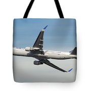 United Airlines Boeing 767-322 Tote Bag