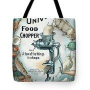 Universal Food Chopper No. 2  1899 Tote Bag