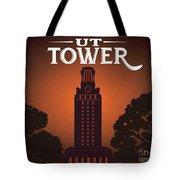 University Of Texas Tower Tote Bag
