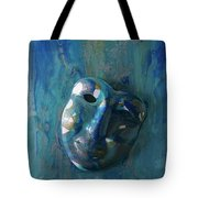 Shades Of Blue Sold Tote Bag