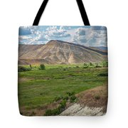 Unpainted Hill Tote Bag by Matthew Irvin