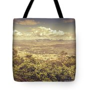 Up Above The Land Down Under Tote Bag