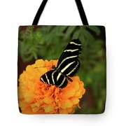 Up Close Monarch Butterfly Tote Bag