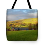 Upper Wensleydale And Lovely Seat From Hawes In Yorkshire Dales Tote Bag