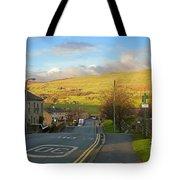 Upper Wensleydale From Hawes Yorkshire Dales National Park Tote Bag