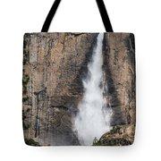 Upper Yosemite Fall Tote Bag