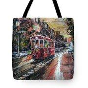 Urban Morning Iv Tote Bag