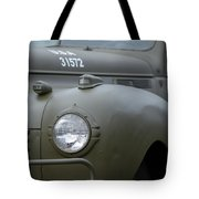 Us Army Staff Car World War II Tote Bag