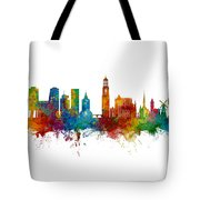 Utrecht The Netherlands Skyline Tote Bag