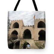 Valencia Fort Building Tote Bag