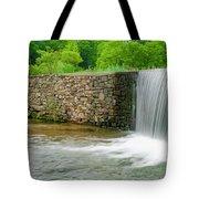 Valley Creek Waterfall Panorama Tote Bag