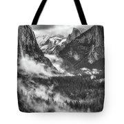 Valley Mist Tote Bag by Vincent Bonafede