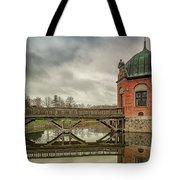 Vallo Castle Wooden Moat Bridge Tote Bag
