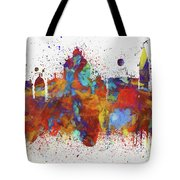 Venice Colorful Skyline Tote Bag