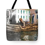 Venice Pause In The Evening Tote Bag