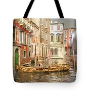 Venice The Little Yellow Duck Tote Bag