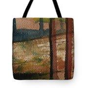 Vertical Path Tote Bag