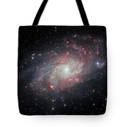 Very Detailed View Of The Triangulum Galaxy Tote Bag