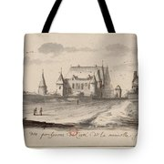 Veueof The Pigs Of The Coste Of The New France Tote Bag