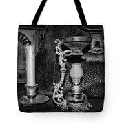Victorian Medical Device Vapo Cresolene Vaporizer Bw Tote Bag