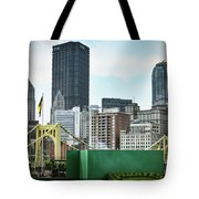 View From The Stadium Tote Bag