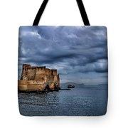 View Of Castel Dell Ovo  Tote Bag