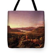 View Of Greenwood Lake, New Jersey Tote Bag