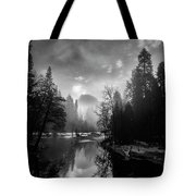 View Of Half Dome II Tote Bag