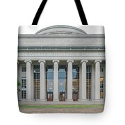 View Of Massachusetts Institute Tote Bag