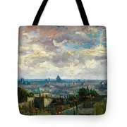 View Of Paris - Digital Remastered Edition Tote Bag
