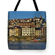 View Of Porto And Douro River Tote Bag
