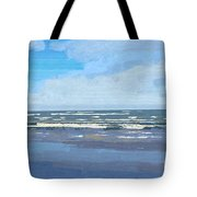 View Of The Texas Gulf Tote Bag