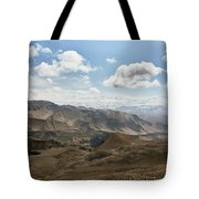 View Of The Village Of Marang From Mui Tote Bag