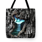 View To Another World  Tote Bag