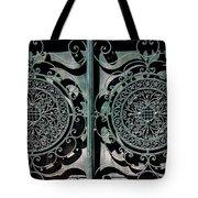 Villa Gate Tote Bag