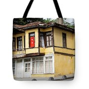 Village Center Structure One Tote Bag