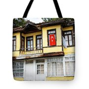 Village Center Structure Two Tote Bag