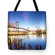 Vincent Thomas Bridge Tote Bag