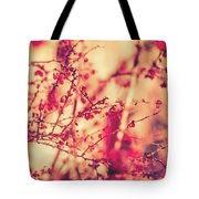 Vintage Autumn I Tote Bag by Anne Leven